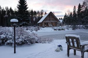 Skating at Kõrveküla Holiday Centre!