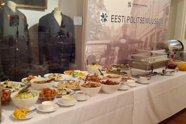 Seminarierummet i Estlands Polismuseum