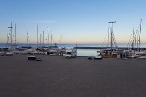 Caravan park in Kärdla Harbour