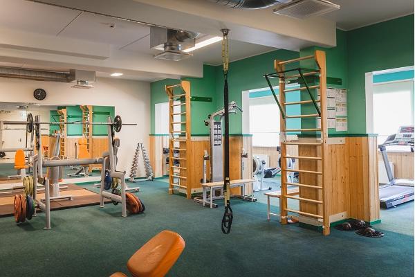 Jeulumē Veselības un sporta centra sporta zāles