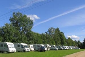Waide motells husvagnsparkering