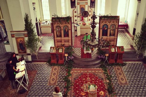Die EAOK Kirche des Heiligen Alexanders in Tartu