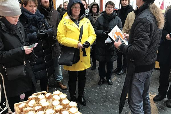 Matturen i Tallinn (Tallinn Food Tour)