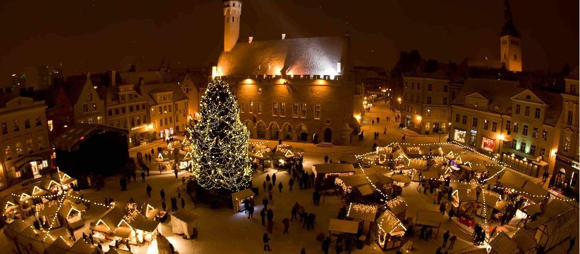 Sagan om Tallinns mest berömda julgran