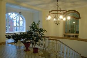 Gebäude des Krankenhauses in Narva