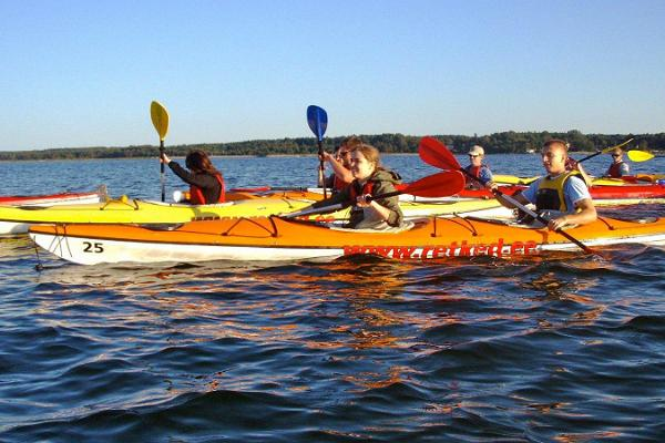 Kayak trip from Valkla Maritime Centre to Island Pedassaare