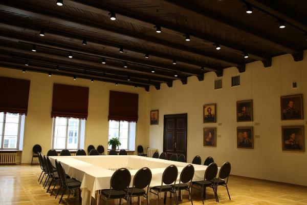 Seminar rooms at the House of the Black Heads