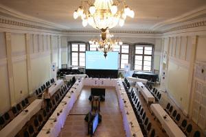 Seminarräume im Mustpeade Maja (dt. das Schwarzhäupterhaus)