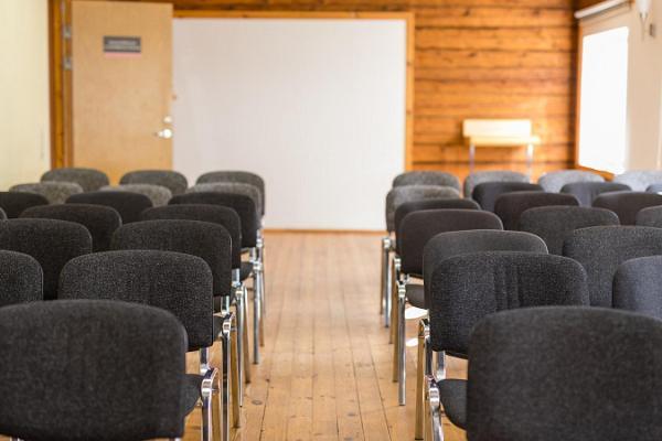 Seminarierummet på Marguse semestercenter