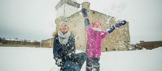 Зимние радости в Нарве