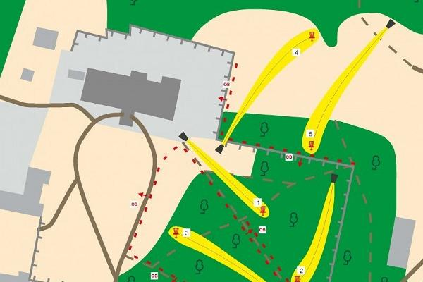 Alatskivi disc golf park