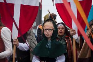 Tage des Mittelalters in der Altstadt von Tallinn