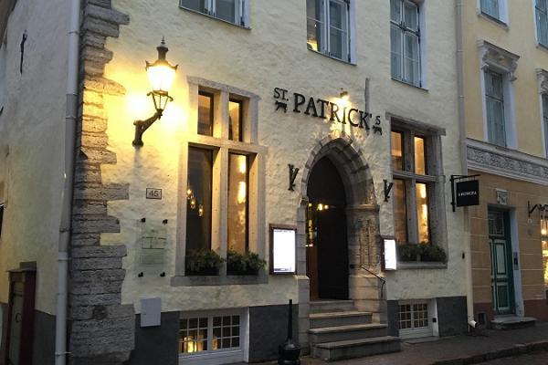 Daily restaurant St. Patrick