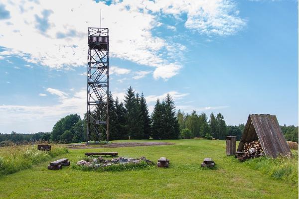 Simisalun näkötorni ja leirintäalue