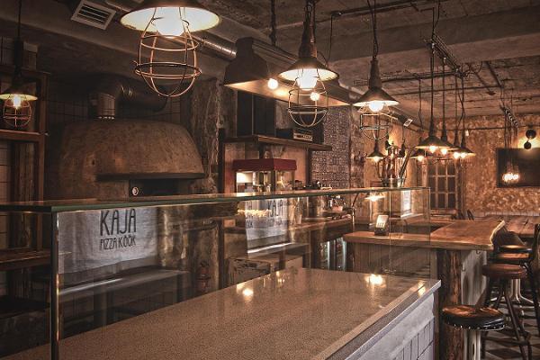 Restaurant Kaja pizza köök