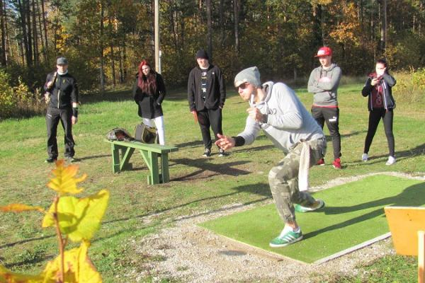 Discgolf-Park in Palivere