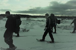 "Two day nomadic trek ""Hiking on snowshoes in the tranquil bogs of Rapla County"""