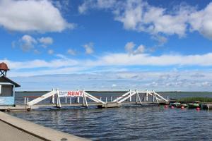 Båtuthyrning vid Hapsals Promenad