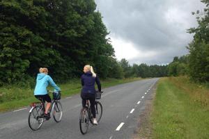 Cykelturen på Nuckö