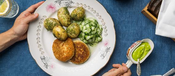 estonia100, EV100, visitestonia, recipe, fishcakes