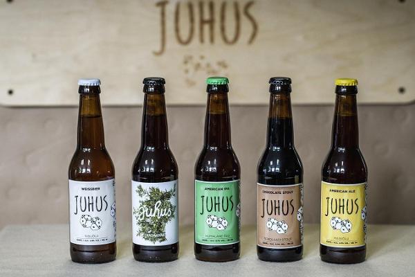 Экскурсия и дегустация пива ручной работы в пивоварне Juhus