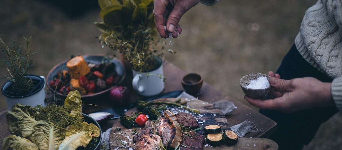 Summer food in Estonia, visit estonia