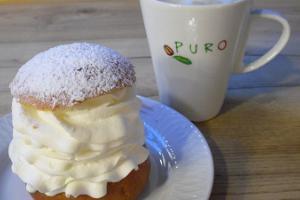 Pärnu-keskuksen maalaistorin kahvila