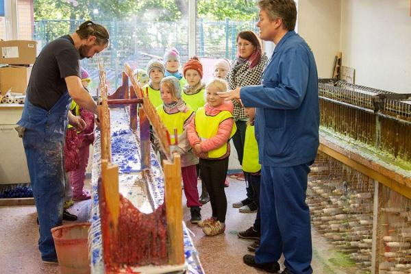 Besuch der Kerzenfabrik Võhma