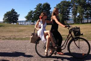 Omal käel jalgrattatuur Heltermaa-Suuremõisa-Hellamaa-Kärdla