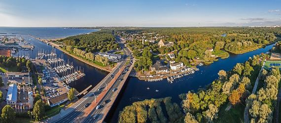 Pirita river and cloister, visit Estonia, Tallinn