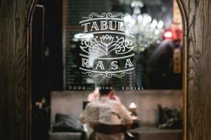 Restaurant Tabula Rasa – a place to see and to be seen at