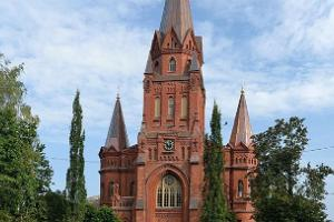 Die evangelisch-lutherische Petruskirche in Tartu