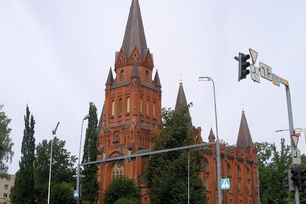 Тартуская церковь Пеэтри ЭЕЛЦ