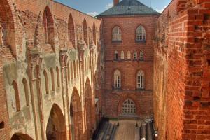 Развалины тартуского Домского собора