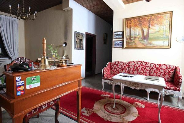 Villa Meretare vastuvõturuum