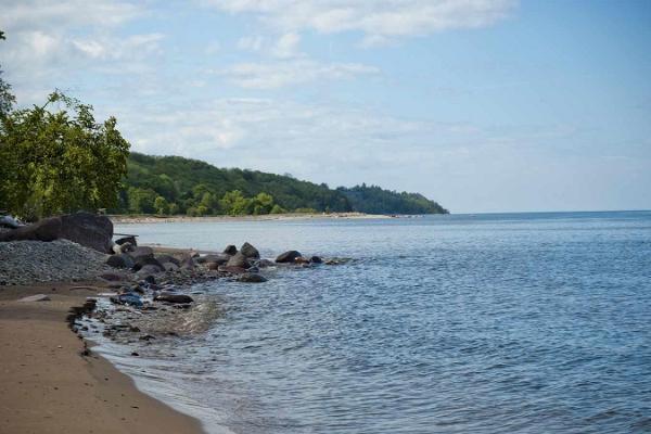 Toila rand - rannariba ja meri