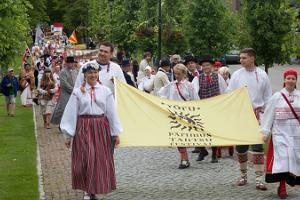 Võru folk dance festival
