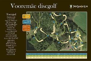 Диск-гольф парк Вооремяэ