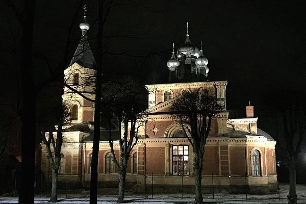 Собор Исидора Юрьевского в городе Валга