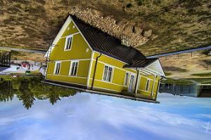 Apgrieztā māja