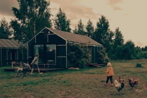 Häuser in Nina