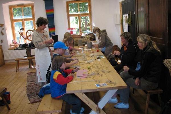Мастер-классы в Эстонском музее сельского хозяйства