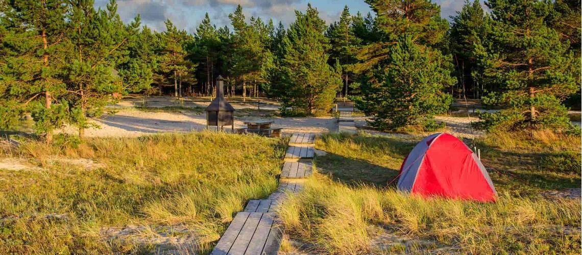 TOP ilmaiset leirintäalueet