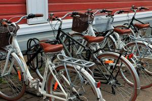Bicycle rental at Valga Visitors' Centre