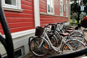 Valgan vierailukeskuksen pyörävuokraamo