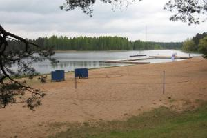 Verevin järven ranta