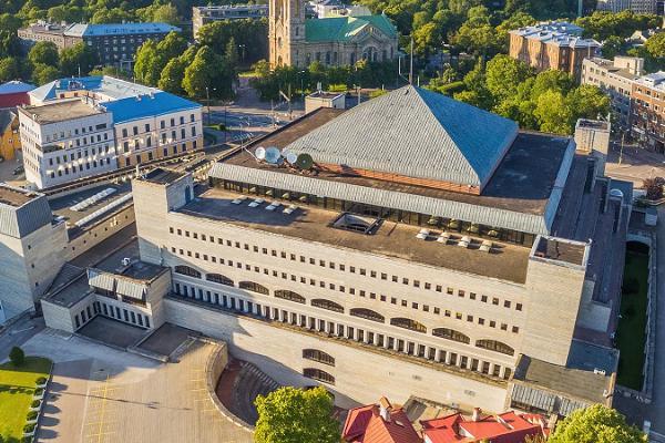 Estlands Nationalbiblioteks konferenscenter