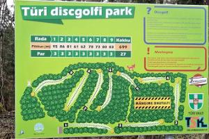 Türi discgolfi park