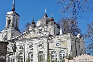 Die EAOK (Uspensky) Kathedrale der Mariä-Himmelfahrt in Tartu