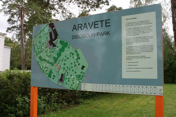 Aravete disc-golfi park